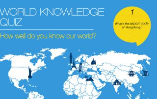 How well do you know our world?