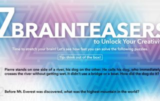 7 Brainteasers to Unlock Your Creativity