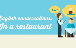 English conversations: In a restaurant
