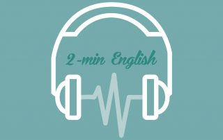 2-min English 兩分鐘英語