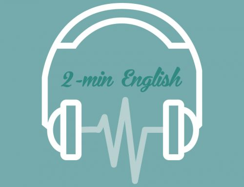 Two-minute English: How to State Your Own Opinion