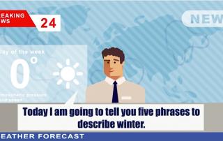 形容寒冷天氣英文