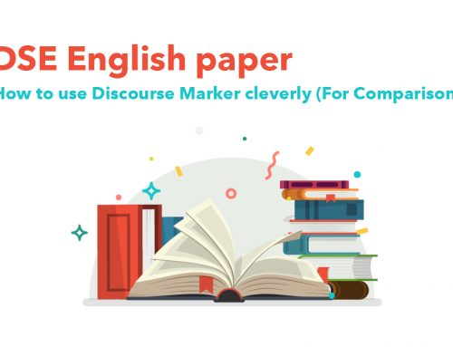 DSE English paper : How to use Discourse Markers cleverly!? (For Comparison)