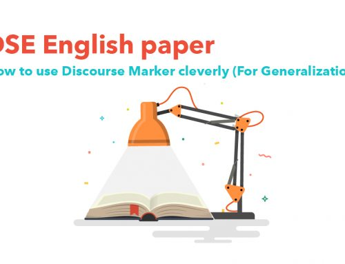 DSE English paper : How to use Discourse Marker cleverlys!?  (For Generalization)
