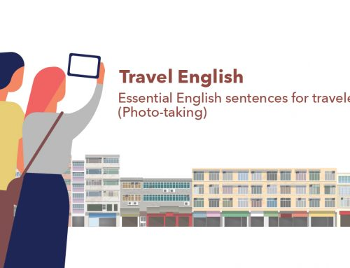 Travel English – Essential English sentences for travelers! (Photo-taking)