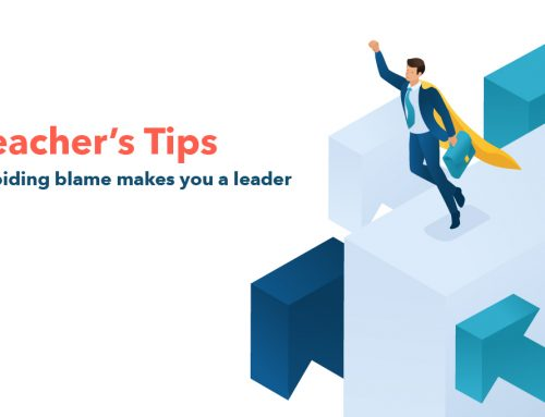 Teacher's Tips : Avoiding blame makes you a leader