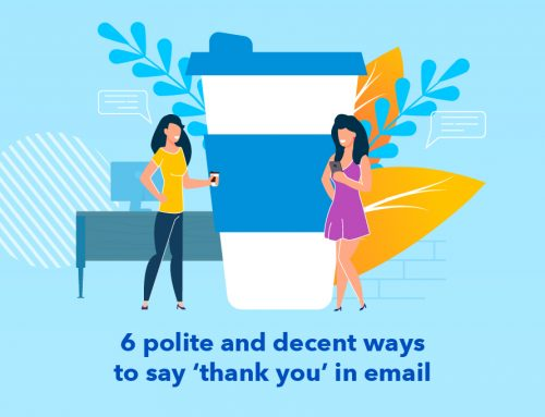 6 polite and decent ways to say 'thank you' in email