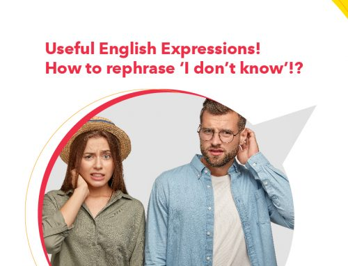 Useful English Expressions! How to rephrase 'I don't know'!?