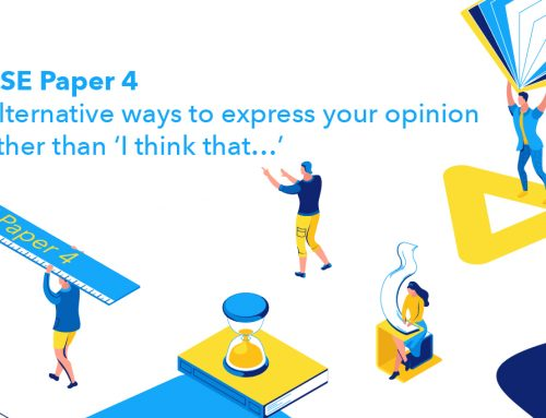 DSE Paper 4 : Alternative ways to express your opinion other than 'I think that…'