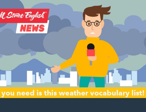 How's the weather today!? All you need is this weather vocabulary list! (1)