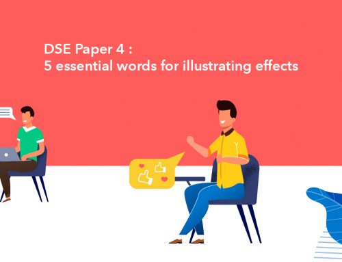 DSE Paper 4 : 5 essential words for illustrating effects