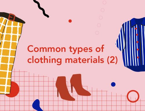 Common types of clothing materials (2)