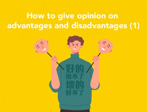 DSE English : How to give opinion on advantages and disadvantages?