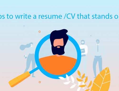 Tips to write a resume /CV that stands out!