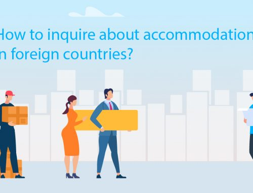 English guide: How to inquire about accommodation in foreign countries?