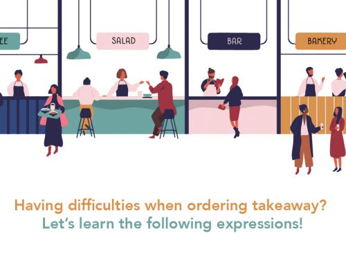 Having difficulties when ordering takeaway? Let's learn the following expressions!