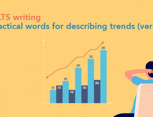 IELTS writing: practical words for describing trends (verbs)