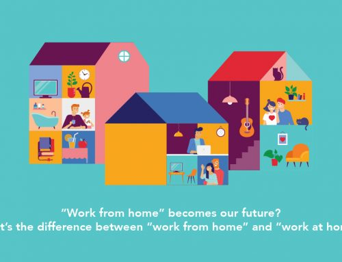 """Work from home"" becomes our future? What's the difference between ""work from home"" and ""work at home""?"