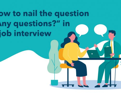 "How to nail the question ""Any questions?"" in a job interview"