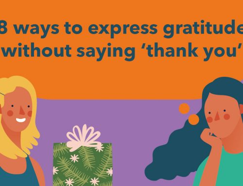 8 ways to express gratitude without saying 'thank you'