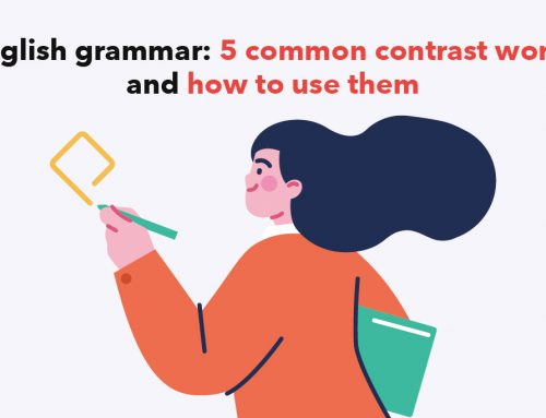 English grammar: 5 common contrast words and how to use them