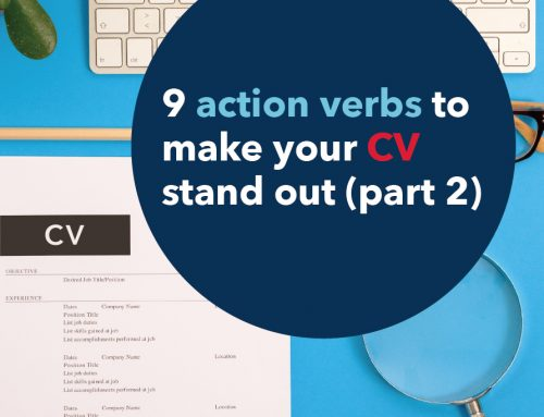 9 action verbs to make your CV stand out (part 2)