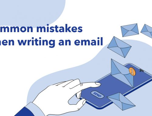 Common mistakes when writing an email
