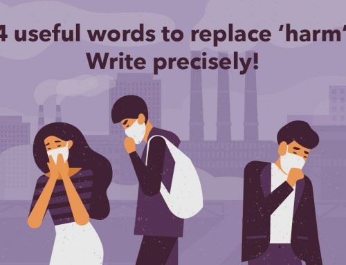 DSE English: 4 useful words to replace 'harm'. Write precisely!