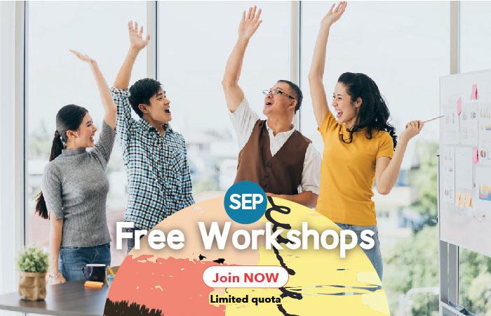 September Free Workshops - Wall Street English