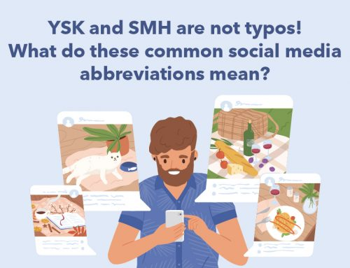 YSK and SMH are not typos! What do these common social media abbreviations mean?