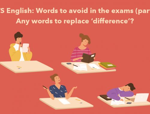 IELTS English: Words to avoid in the exams (part 2)! Any words to replace 'difference'?